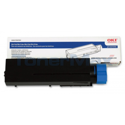 OKI B411D TONER CARTRIDGE BLACK